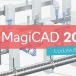 Появилось обновление MagiCAD 2019 UR-1 для Revit и AutoCAD