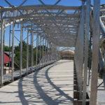 Минстрой создал СП по проектированию пешеходных мостов из алюминия