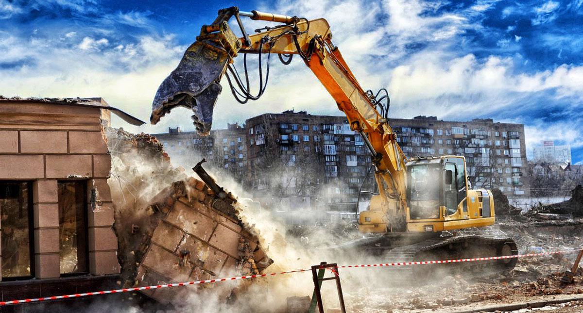 В России будет внедрен «умный» снос аварийных зданий