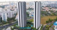 В Сингапуре построены две самые высокие башни из модульного бетона в мире